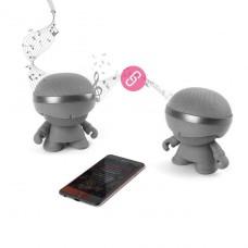 Акуст. стереосистема Xoopar - Xboy Glow(12cm,сер.,Bluetoot