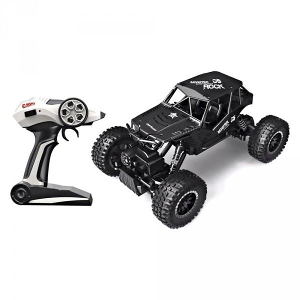 Автомобиль Off-Road Crawler на радиоуправлении - Tiger (матовый черный 1:18) SL-111RHMBl