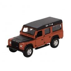Автомодель - Land Rover Defender 110 (ассорти белый, оранж