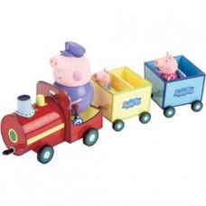Игровой набор Peppa - Паровозик Дедушки Пеппы (паровозик,