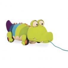 Игрушка-каталка на веревочке - Крокодил Клац-Клаус BX1674Z