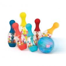 Игровой набор - Cверкающий боулинг (6 кеглей, шар, подстав