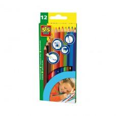 Набор - Цветных Карандашей (12 цветов) 0224S