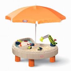 Песочница-стол - Веселая Стройка (для песка и воды, с аксессуарами) 401N10060