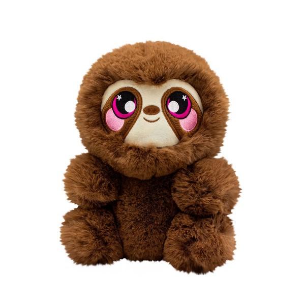"Ароматная мягкая игрушка Squeezamals серии ""3-Deez Deluxe"" - Ленивец Сидни SQ00937-5008"
