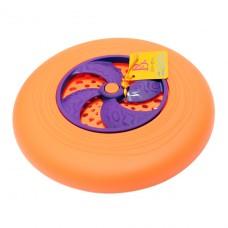Игрушка - Фрисби (цвет папайя-сливовый) BX1356Z