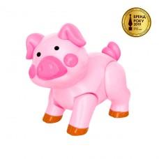 "Игрушка серии ""Домашние животные"" - Свинка (звук трещотки) 56945"