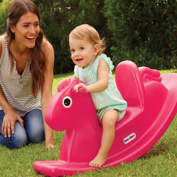 Качалка - Веселая лошадка S2 (розовая) 400G00060