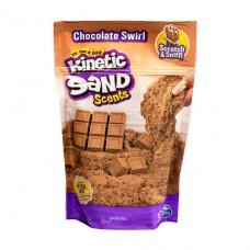 Песок для детского творчества с ароматом - Kinetic Sand Горячий Шоколад 71473H