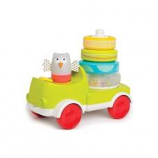 Развивающая машинка с пирамидкой - Совушка-Малышка: Два в