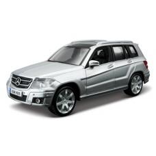 Автомодель - Mercedes Benz Glk-Class (ассорти красный, серебристый, 1:32) 18-43016