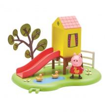 Игровой набор Peppa - Игровая Площадка Пеппы (домик с горк