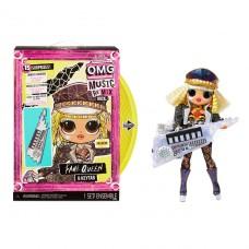 """Игровой набор с куклой LOL Surprise! """"OMG Remix Rock""""- Королева Сцены 577607"""