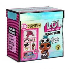 """Игровой набор с куклой LOL Surprise! серии """"Furniture"""" S2 - Комната Леди-Сплюшки 570035"""
