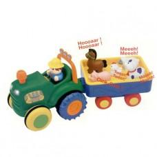 Игрушка на колесах - Трактор с Трейлером 24753