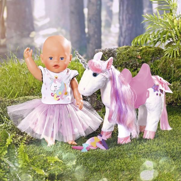 Интерактивная игрушка Baby Born - Сказочный Единорог (свет) 828854