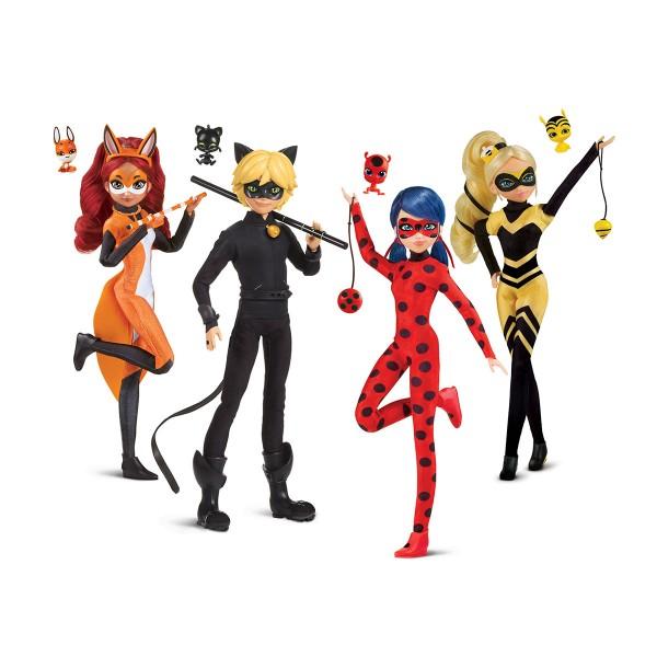 Кукла Леди Баг и Супер-Кот S2- Квин Би 26 сm Miraculous 50003