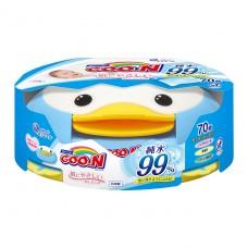 Влажные салфетки GOO.N для чувств.кожи (пласт.бокс-пингвин
