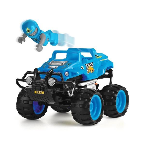 Автомобиль Crash Car на р/у - Носорог (синий, аккум. 4.8V) TY5873C-1