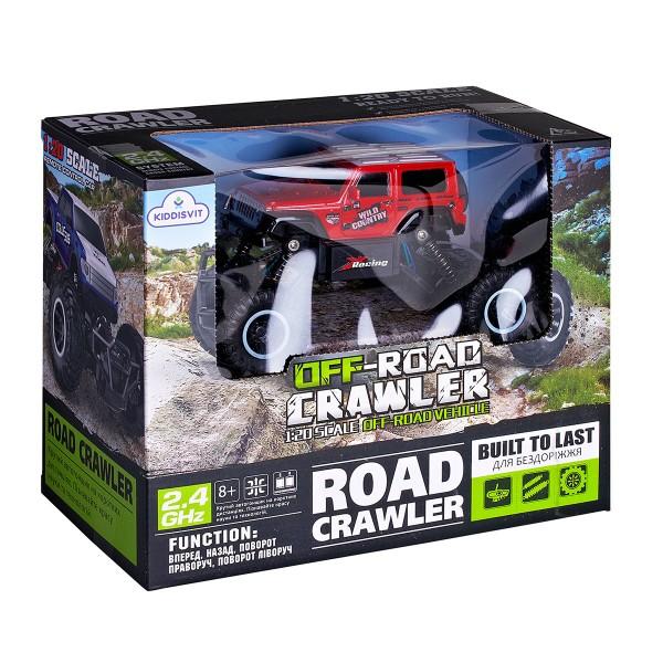 Автомобиль Off-Road Crawler на р/у - Wild Country (красный, аккум. 3,6V, 1:20) SL-106AR