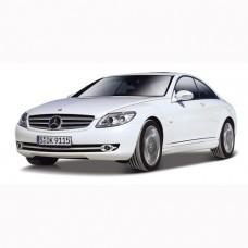 Автомодель - Mercedes-Benz Cl-550 (белый, черный, 1:32) 18-43032
