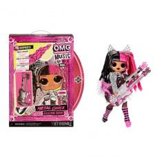 """Игровой набор с куклой LOL Surprise! """"OMG Remix Rock"""" - Леди-Металл 577577"""