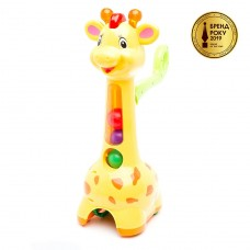 Игрушка-каталка - Аккуратный Жираф 52365