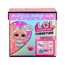 """Игровой набор с куклой LOL Surprise! серии """"Furniture"""" - Леди-Релакс на отдыхе 572633"""