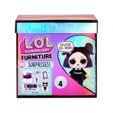 """Игровой набор с куклой LOL Surprise! серии """"Furniture"""" Спальня Леди - Сумерки 572640"""