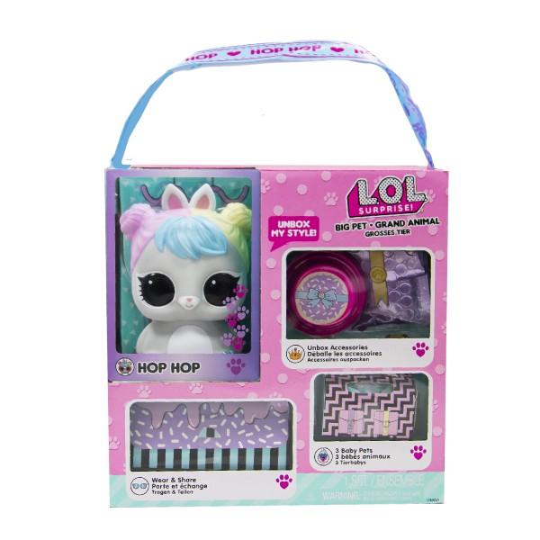 """Игровой набор LOL Surprise! """"Big Pets"""" - Кролик Прыг-Скок Лол 577713"""
