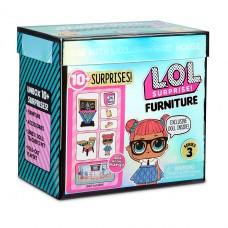 """Игровой набор с куклой LOL Surprise! серии Furniture"""" S2 - Класс Умницы 570028"""