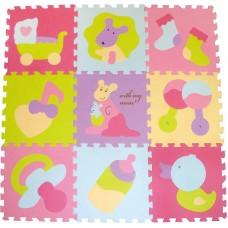 Детский игровой коврик - пазл «Маленький кенгуренок», 92х9
