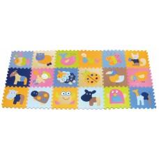 Детский игровой коврик-пазл «Волшебный мир» GB-M1218ABL Ba