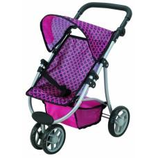 """Прогулочная коляска для куклы """"Catrin"""" 9671 TODS"""