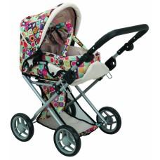 Детская коляска 2 в 1 с люлькой «Mary», цветная 9346C TODS