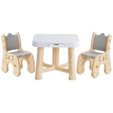 Детский функциональный столик Poppet Классик и два стульчи