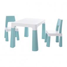 """Детский функциональный столик """"Моно Блу"""" и два с"""
