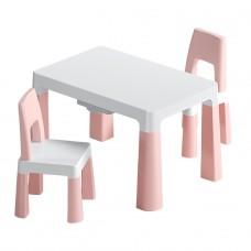 """Детский функциональный столик """"Моно Пинк"""" и два"""