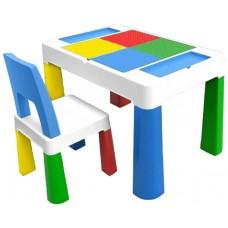 Детский многофункциональный столик Poppet Колор Блу 5 в 1