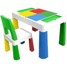 Детский многофункциональный столик Poppet Колор Грин 5 в 1