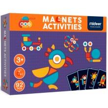 """Магнитная книга-игра """"Геоформы"""" , 92 части Mideer MD1041"""