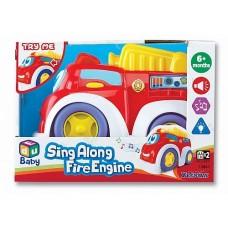 Пожарная, машинка музыкальная K12841 Keenway
