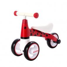 Детский трёхколёсный беговел POPPET «Божья коровка Иви», к