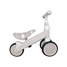 Детский трёхколёсный беговел POPPET «Мишка Лаки Дрим», мат